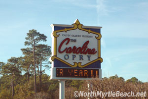 Myrtle Beach attractions - the Carolina Opry
