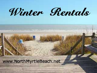 Winter Rentals in the Myrtle Beach area